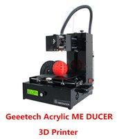Cheap Free Shipping Fashion NEW Geeetech latest Assembled Acrylic ME DUCER desktop DIY 3D printer Prusa