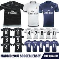 discount soccer jerseys - Whosales Discount Madrid Jersey Football Jersey football Shirt Ronaldo Bale James Kroos Soccer Jerseys Uniforms A