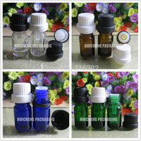 plastic bottles and containers - sets MLEmpty Essential Oil Bottle with Plastic Dropper And Cap For Cosmetic Packaging Cosmetic Container