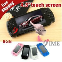 Wholesale Hot Sale GB Game Player New Inch Touch Screen Game Player Super Thin Game Player Support D And Flash Games