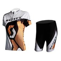 Cheap Cycling Jersey Sets Women Gold Bicycle Jerseys and Black Padded Cycling Shorts Colorfast Breathable Cheap Cycling Jerseys Wear High Quality