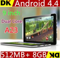 google android tablet - 1 Allwinner A23 G MAH Bluetooth inch Dual Core Tablet PC Q88 Android Dual Camera WiFi Google Play