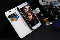 Wholesale fashion Retro Cover For Samsung Galaxy S4 Mini I9190 I9192 Fully Protect Cell Phones Wallet Stand Cover For Galaxy S MIni Bag