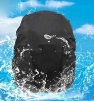 Wholesale Camping Hiking Backpack Rucksack Waterproof Rainproof Cover Black Bag