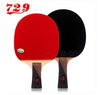 Wholesale authentic Friendship table tennis racket table tennis bats Samsung star Penhold horizontal position sided anti adhesiv