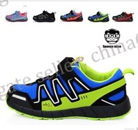 fabric for kids - HOT SELL Child Salomon Sport Shoes Boys Girls Sneakers Casual Athletic Shoes Children s Running Shoes for Kids Color Size k111