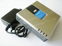 Wholesale UNLOCKED PAP2T NA Linksys PAP2T Internet SIP VOIP Gateway Phone Ports Adapter without box