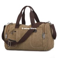 army luggage - Designer Male Duffel Traveling Canvas Bags Crossbody Larger Mens Weekender Bag One Shoulder Utility Backpacks Military Luggage Color Sell
