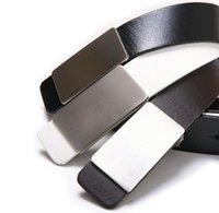 Wholesale New Fashion Designer Metal Automatic Buckle Faux Leather Men Belts Brand Men Accessories