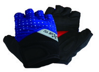 Wholesale 2016 New Style Fashion Multifunction Fitness Half Finger Cool Shockproof Sports Exercise Cycling Biking Racing Gloves ZXC