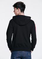 armour coat - Mass Effect Hoodies N7 Original Armour Stripe Hoody Zipper Cosplay Costume Sweatshirts Coat Outwear High Quality Version