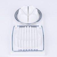 Wholesale 2in1 Cut Multifunction Kitchen Egg Slicer Sectioner Cutter Mold Flower Edges Kitchen Y50 JJ0271 M5