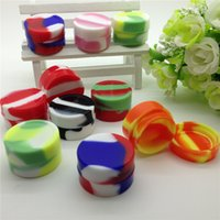 Wholesale silicone wax box Wax Containers Silicone jars container silicone contianer for wax silicone jar dab wax container for glass atomizer vhit m3