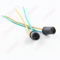 Wholesale Car Truck Xenon LED Light Bulb Holders Socket Connector harness plugs T10 W5W T15