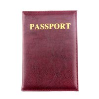 credit cards - ZS Color Passport Cover Leather ID Holders Documents Bag Casual Travel Passport Holder passport Covers Card Case