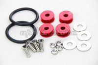 Wholesale Quick Release Aluminum Fasteners Car Washer Red For Front Bumpers Rear Bumpers Trunk Hatch Lids