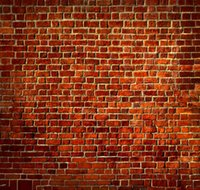 Wholesale 8X8ft Brick Wall theme Vinyl Custom Photography Backdrops Prop Muslin Background ZHQ
