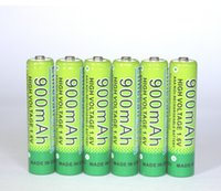 Wholesale 6 Etinesan v aaa mAh nizn Ni Zn rechargeable battery batteries High voltage and powerful
