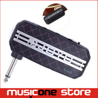 al por mayor bolsillo de la guitarra-Nuevo JOYO JA-03 - Efecto de sonido de guitarra de plomo - Mini amplificador de guitarra Amplificador de bolsillo con salida de auriculares y entrada de MP3 MU0063