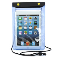 Wholesale Stylish Protective PVC Waterproof Bag w Strap for quot Ipad MINITo Travel The Necessary Tablet Waterproof Blue