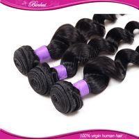 Cheap brazilian hair bundles loose wave Best human hair weave