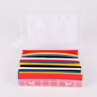 Wholesale 30pcs mm ratio Size color mm mm mm Polyolefin Heat Shrink Tubing sleeve Cable Wrap Kit