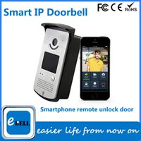 Wholesale atz db003p smart home use wifi video door phone with video talking by mobile phone remotely pc DHL