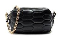 bi bags - AD402 Fashion solid geometric quilted chains bi zipper compartment Women girl messenger bag crossbody shoulder bag flaps Z