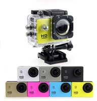 Wholesale sj4000 digital camcorder Waterproof Cameras gopro Sports DV HD Action Sport Camera Car DVR Gopro Style P MP