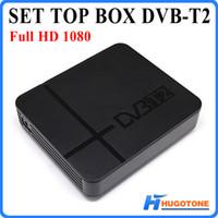 оптовых hd receiver dvb-t-Full HD 1080P телеприставки К2 H.264 / MPEG-2/4 DVB-T2 Цифровой эфирный Спутниковое ТВ приемника Совместим с DVB-T