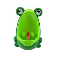 Wholesale Cute Frog Boys Toddler Hang on wall Pee Training Vertical Urinal Toilet Separable Easy Wash Independence Focus Training