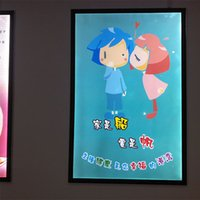 advertise pictures - Slim Advertising Display High Brightness Light Box Picture Frame