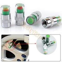 Wholesale Drop shipping bar PSI New car Tire Pressure Monitor Valve Stem Cap Sensor Indicator Color Eye Alert A3