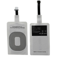 Wholesale Qi Wireless Charging Receiver Wireless Charger Receiver USB Charging Pad Receiver Compatible With All iPhone s c plus