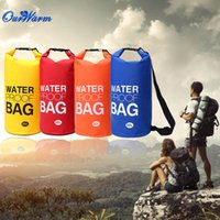 Wholesale Yellow Blue Red Orange Waterproof Bag Dry Bag Outdoor Bag for Floating Boating Camping Hiking Kayaking Outdoor Sports L L