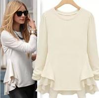 Wholesale New Summer Fashion Women Blouses Sheer Shirts Casual Ladies Tops For Women Clothing Patchwork Chiffon Vestido Blusas