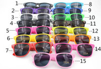 beach factory - 10pcs Factory Sales Fashion Universal Classic Outdoors Colorful Shades Style Sunglasses UV400 Star s Favorite Hot Sale Sun Glasses