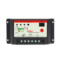 Wholesale LED Display A Solar Panel Battery Charge Controller V V Light Time Regulator W W Solar Controllers