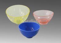 Cheap Diameter 13cm, Depth 9cm Rubber Mixing Bowl Best ( 2*Samll, 1*Medium large, 1*Big)  Diameter 11cm, Depth 6.5cm mixing bowl