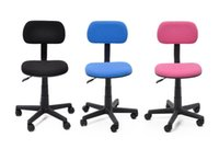 Wholesale Brand new Flash Furniture Mid Back Black Mesh Computer Chair OfficeTask Computer Chair with Fabric Pads stock in Australia