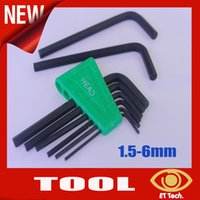 ball handle screwdriver - High quality set Extra Long Hex Key Ball End Set Allen Keys mm mm Wrench Tool Handle