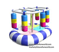 playground equipment - Kids In Motion Products Indoor Soft Playground Equipment Games Electrical Toys for Kids Play Center FF Rocking Punching Bag