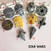 baby boy keychains - New Arrival Design Children Star Wars Force Awakening Key buckle new Star Wars Airship key ring baby Keychain