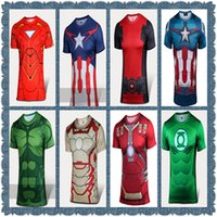 agent orange shirt - Mens t shirts fashion armor iron man avengers alliance x men cartoon surrounding retail agents