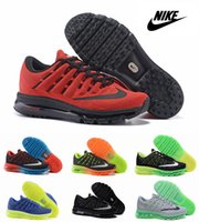 silver flats - Nike Air Max Mesh Men Running Shoes Brand New Black Silver Green Orange Multi color Airmax Maxes Max2015 Size