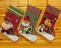 big gifts shorts - High Quality European style big brother ski Christmas socks Creative gifts of candy socks Christmas stockings for Holiday hot sale