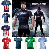 Wholesale NEW Flash man Hulk Batman Retro Spiderman Venom Ironman Superman Captain America Xmen Marvel T shirt Avengers Superhero