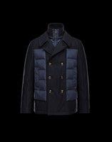 Wholesale 100 Original Men s ROUVE Down Parkas BLAIS Jackets man winter outdoor gentlemen Outerwear White Duck Down Coats Cotton jackets