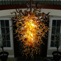 art deco reproductions - Air Shipping Mouth Blown Borosilicate Murano Glass Dale Chihuly Art Decor Hall Lobby Antique Reproduction Lamps