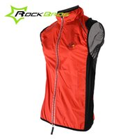 Wholesale ycling Jerseys Tour de France Cycling Sports Men Riding Breathable Reflective Bike Bicycle Cycle Clothing Wind Vest Sleeveless Jacket